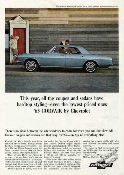 Corvair Monza By Chevrolet Collectible Car (1965)