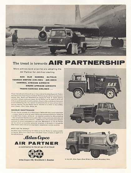 Atlas Copco Air Partner Airline Jet Start Truck (1960)