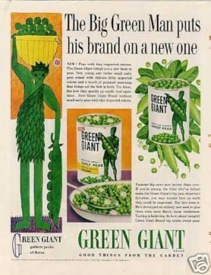 Green Giant Peas (1960)