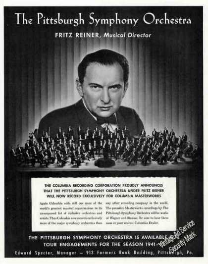 Pittsburgh Symphony Orchestra Fritz Reiner (1941)