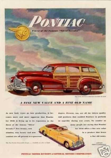 Pontiac Deluxe Station Wagon (1946)