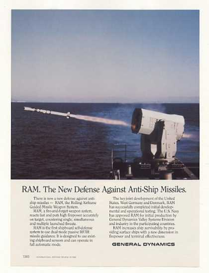 General Dynamics RAM Guided Missile Sys Photo (1988)