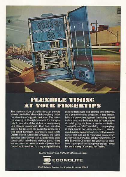 Econolite Digital Traffic Controller (1967)