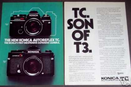 Konica Autoreflex Tc Camera (1977)