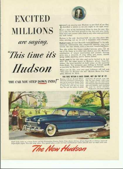 This Time Its Hudson Blue Car (1948)