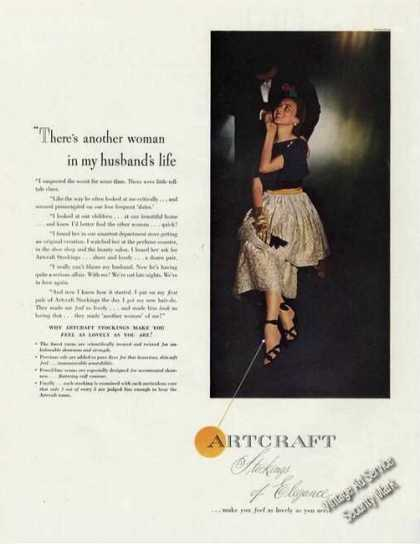 Artcraft Stockings of Elegance Antique Fashion (1947)