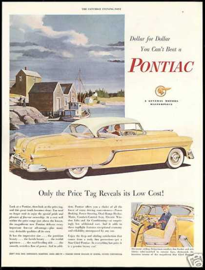 Pontiac 2 Door Car Low Cost Vintage (1954)