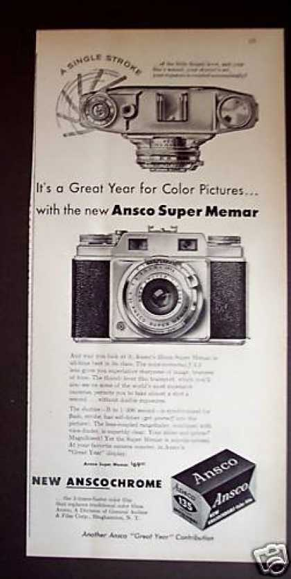 Ansco Super Memar Camera (1956)