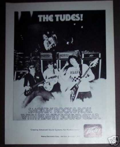 The Tubes Photo Peavey Sound Gear (1978)