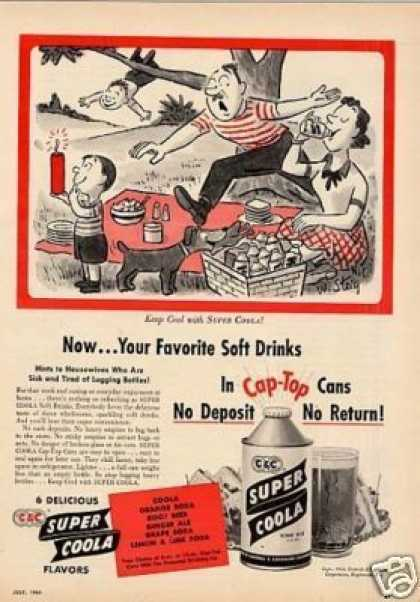 C&c Super Cola (1954)