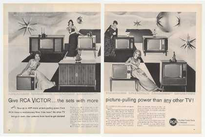 RCA Victor TV Television 8 Models (1960)