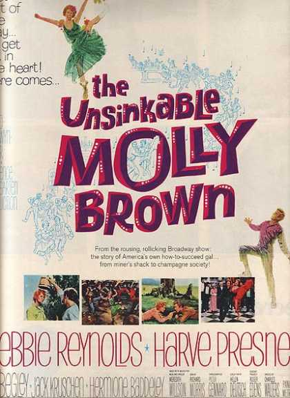 The Unsinkable Molly Brown (MGM) (1964)