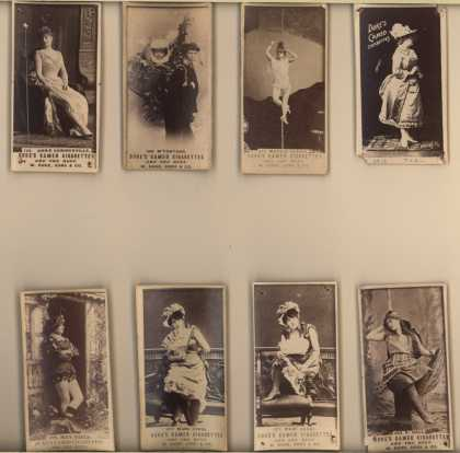 W. Duke Sons & Co.'s Duke's Cameo Cigarettes – Actors/Actresses – Image 3