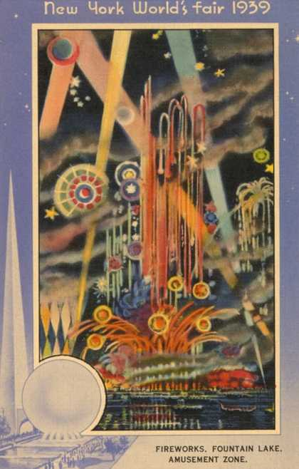 Fireworks, New York World's Fair (1939)
