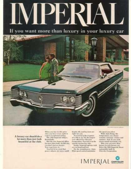Chrysler Imperial LeBaron More Than Luxury (1968)