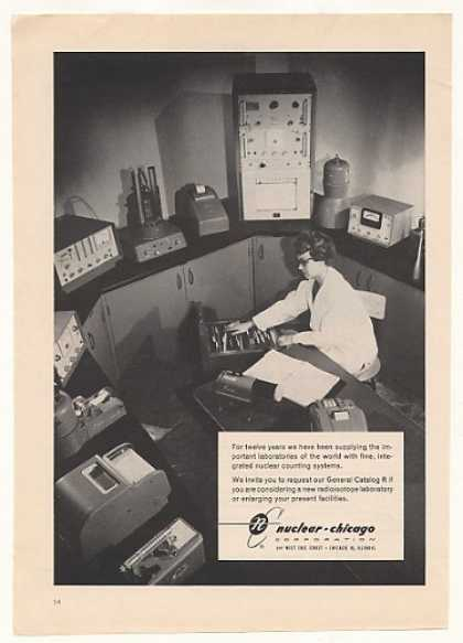 Nuclear Chicago Counting Systems Equipment (1959)
