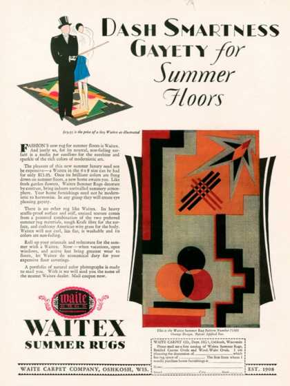 Waitex, USA (1929)