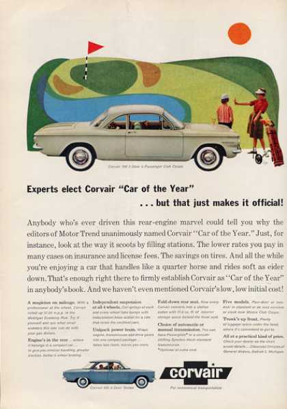 Chevy Chevrolet Corvair 700 Golf (1960)