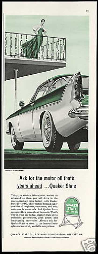 Chrysler Flight Sweep II Concept Car Quaker Oil (1956)