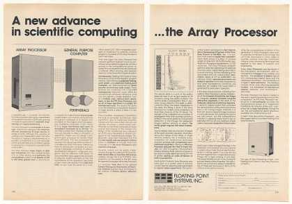 Floating Point Systems Array Processor Computer (1977)