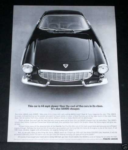 "Volvo 1800s, ""Touring Car"" (1964)"