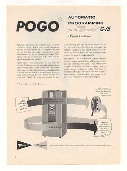 Bendix G-15 Digital Computer POGO Programming (1959)