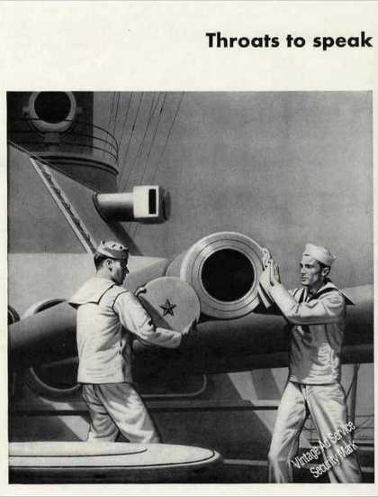 Navy Guns Art Wwii Westinghouse (1942)