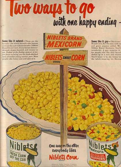 Green Giant's Niblets Corn (1950)