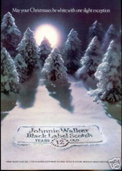 Johnnie Walker BL Scotch Christmas Exception (1977)