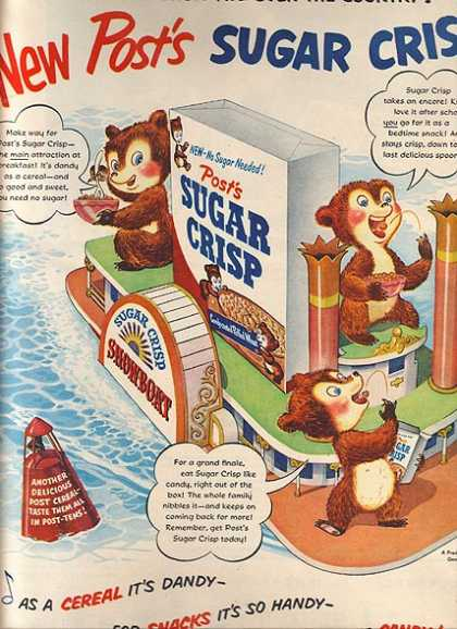 Post&#8217;s Sugar Crisp (1951)