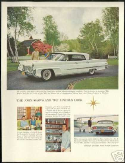 Lincoln Premiere Landau Car John Shaw Golf (1958)