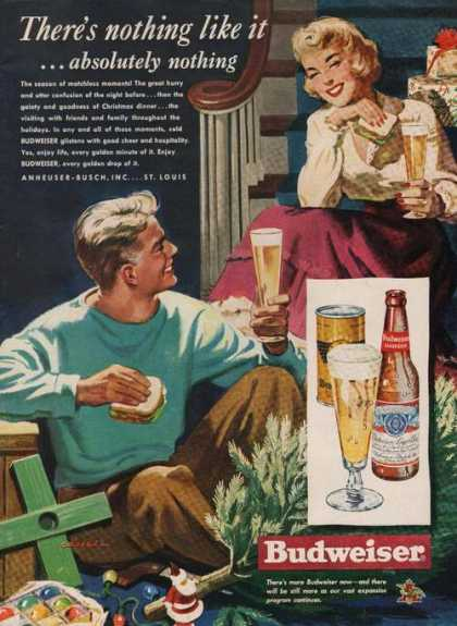 Nothing Like It Budweiser Beer (1949)