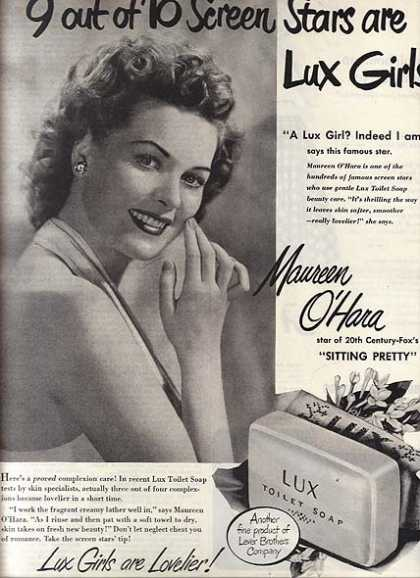 Toilet Soap – Lux (1948)