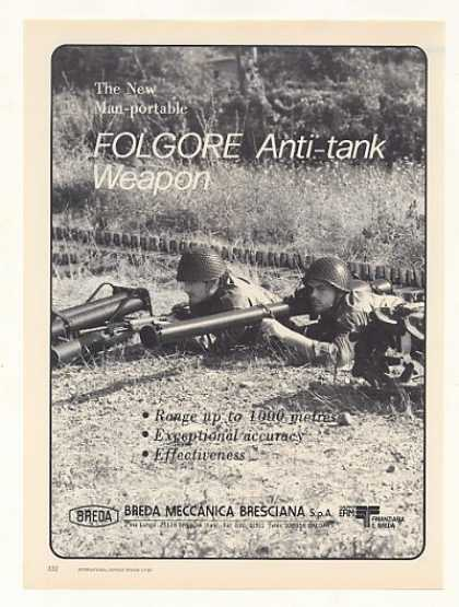 Breda Folgore Anti-Tank Weapon Photo (1987)