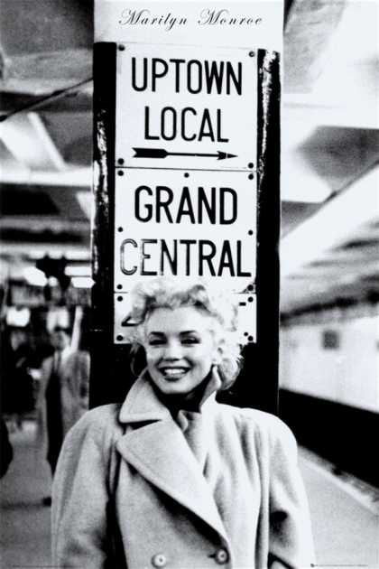 Marilyn Monroe – Grand Central Station