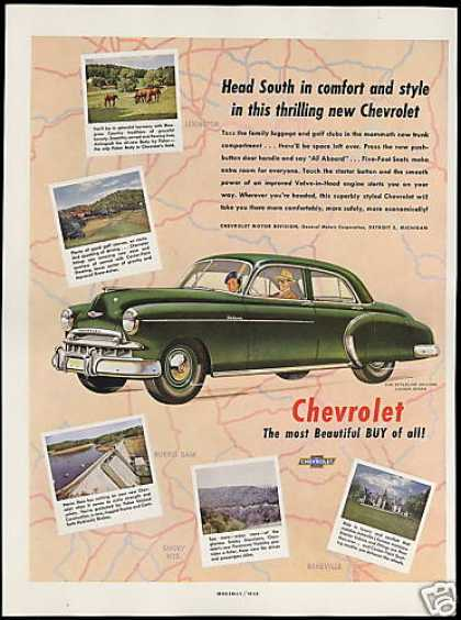 Chevrolet Styeline Deluxe 4dr Sedan Car (1949)