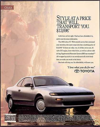 Toyota Celica ST Car Photo (1991)