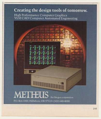 Metheus 0400 VLSI CAD Graphics Computer (1982)