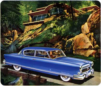 Nash Ambassador Custom Golden Airflyte (1952)