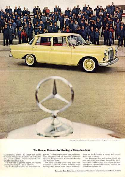 Merceds Benz 190 Sedan Factory Builders (1962)