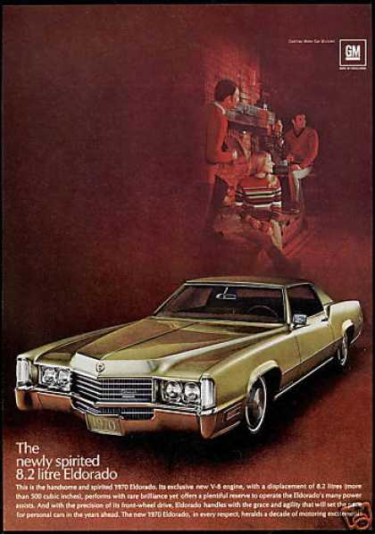Cadillac Eldorado Car Photo Vintage (1970)