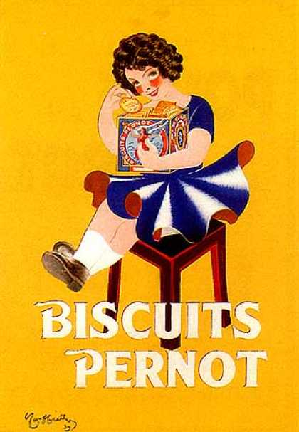 Biscuits Pernot by Leonetto Cappiello (1939)