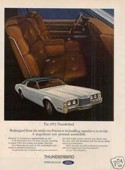 Ford Thunderbird Car (1972)