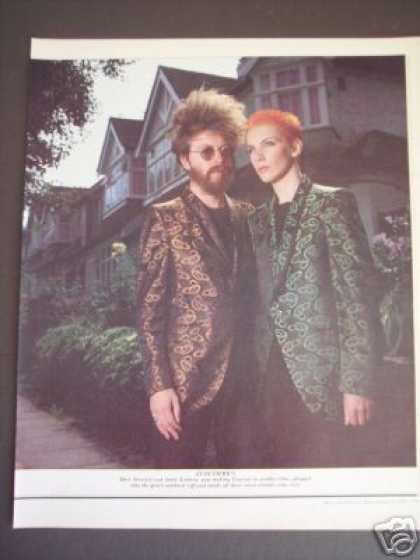 Eurythmics Annie Lennox Promo Photo Original (1983)