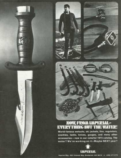 Imperial Scuba Diver Diving Knife (1973)