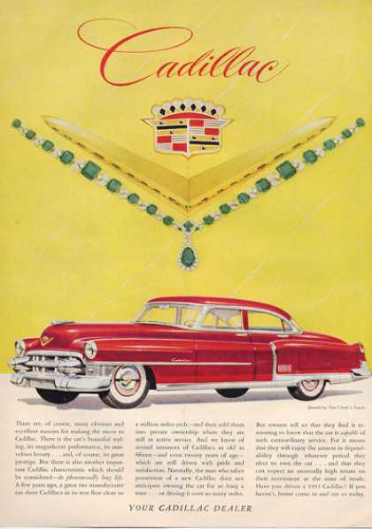 Cadillac Van Cleef Arpel Jewels (1953)
