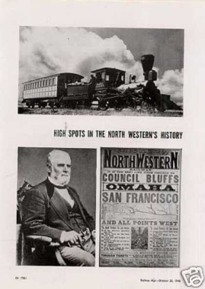 """High Spots-north Western's History"" Article/c&nw (1948)"