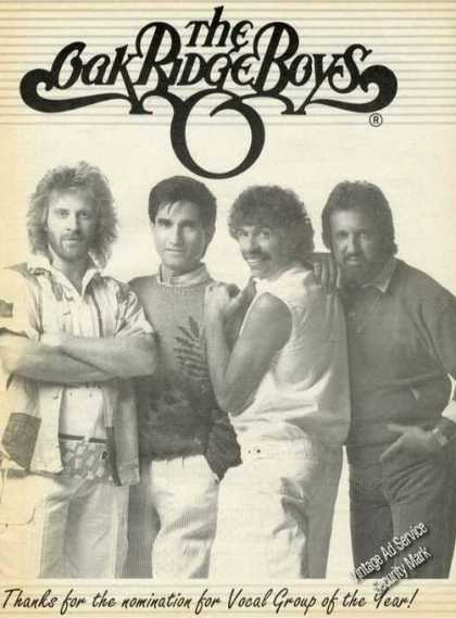 Oak Ridge Boys Photo Nomination (1988)