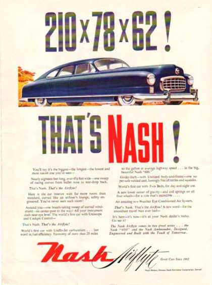 Nash Motors Car – Nash Airflyte – Dark Blue (1949)