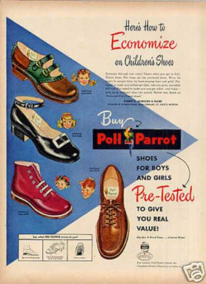 Poll Parrott Children's Shoes (1948)
